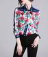 Floral print long sleeve shirt Sale - Kaimilan Sale