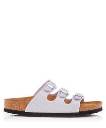 Florida lavender narrow fit sandals