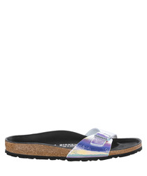Madrid ombre one-strap sandals