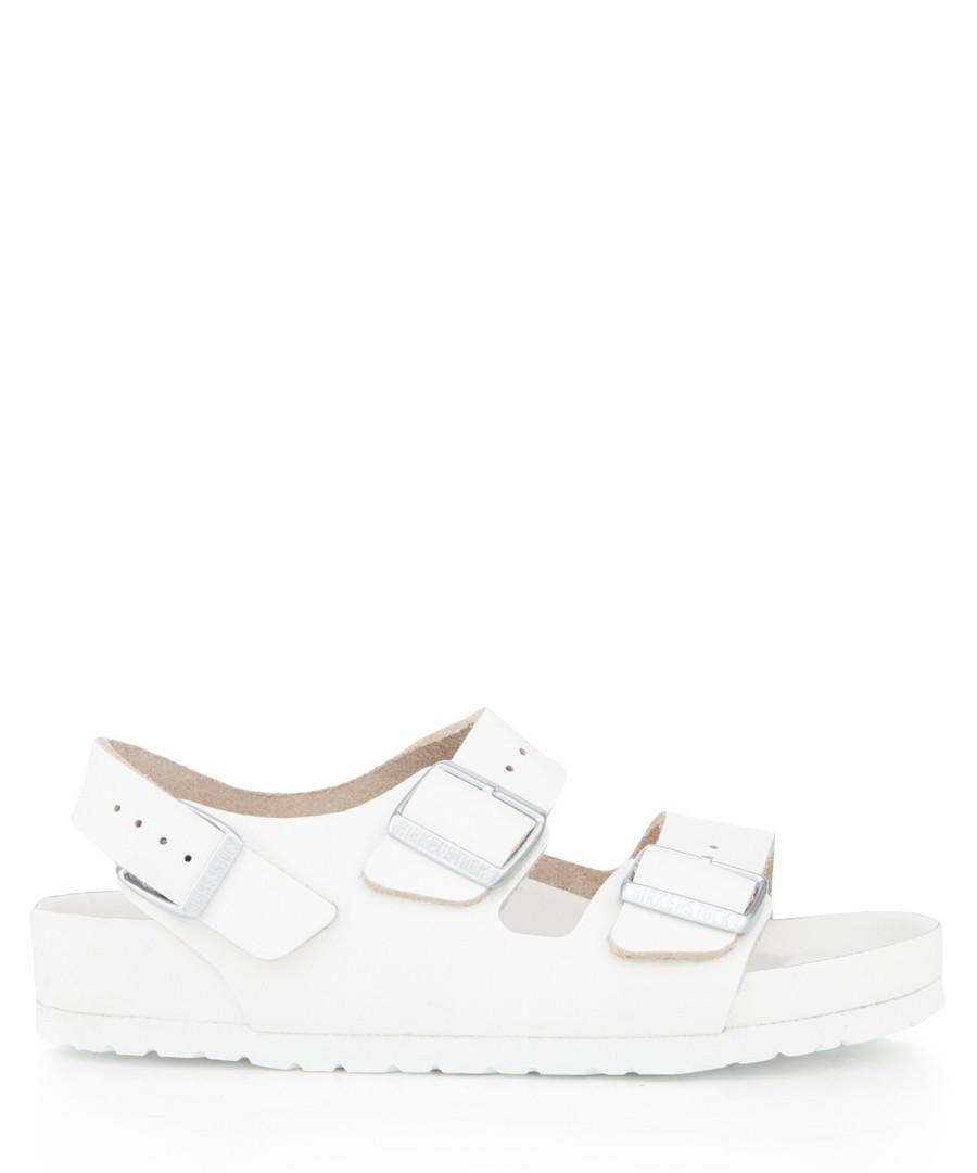 Milano white leather sandals Sale - birkenstock