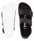 Milano black leather moc-croc sandals Sale - birkenstock Sale