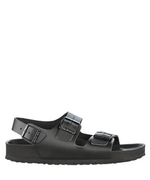Milano black sandals