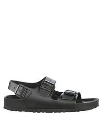 Milano black sandals