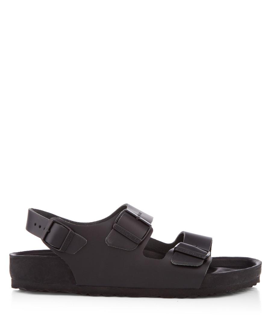 Milano black leather sandals Sale - birkenstock