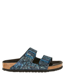 Arizona Spotted Metallic sandals