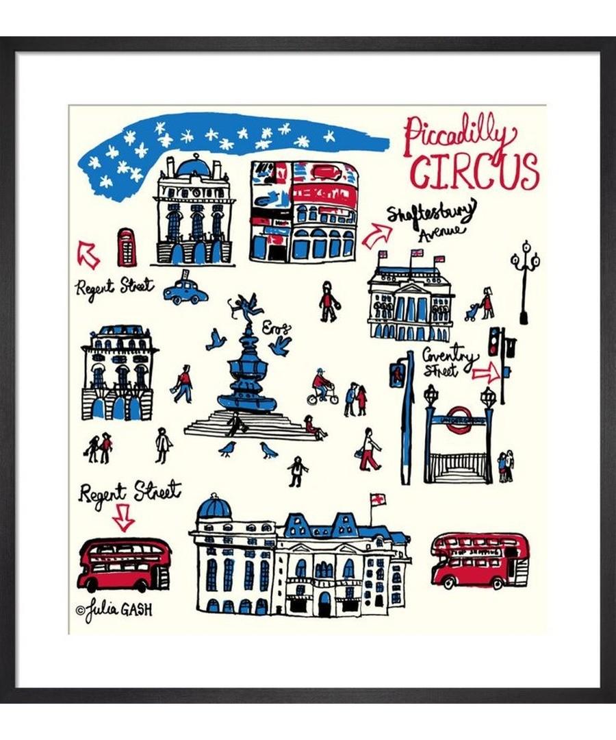 Piccadilly Circus Cityscape by Julia Gash Sale - Julia Gash