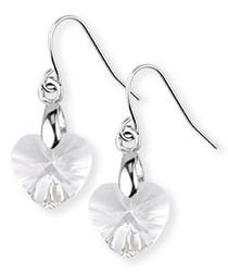 2pc Swarovski necklace & earrings set