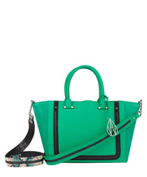 The Johansson turquoise leather tote