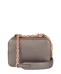 The Chain Bowie bronze-tone crossbody
