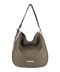 The Large Mara leather shoulder bag