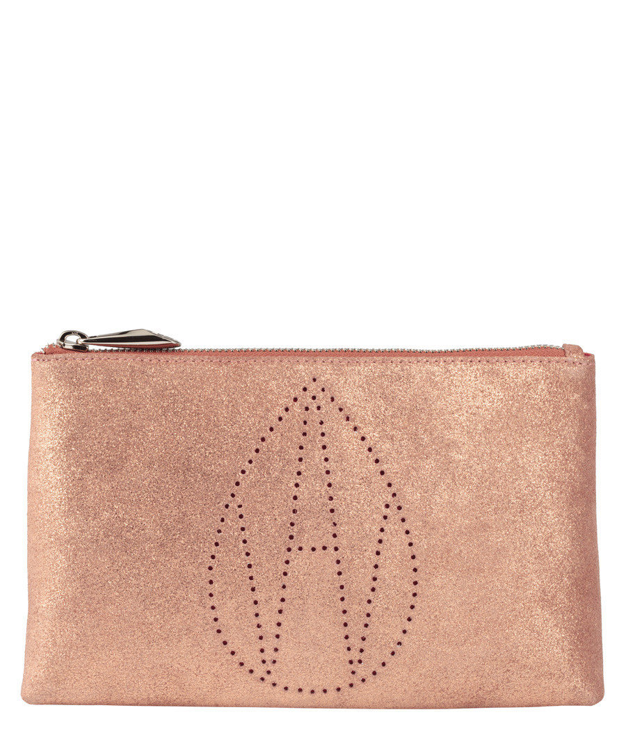 The Perforated Large Mercury clutch Sale - Amanda Wakeley