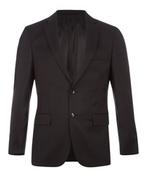 Howard graphite pure virgin wool blazer