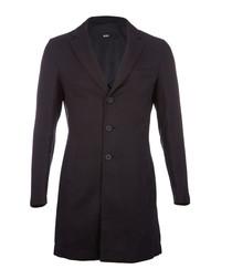 Steven midnight cotton blend greatcoat