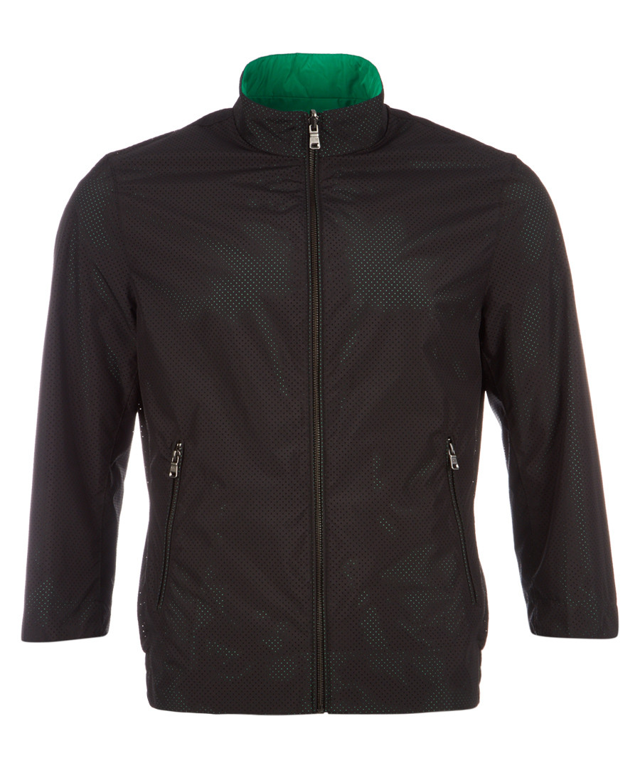 Ciram black & jade reversible jacket Sale - hugo boss
