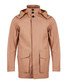 Chaser camel cotton hooded Mackintosh Sale - Hugo Boss Sale