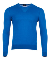 Fabello blue pure cotton jumper