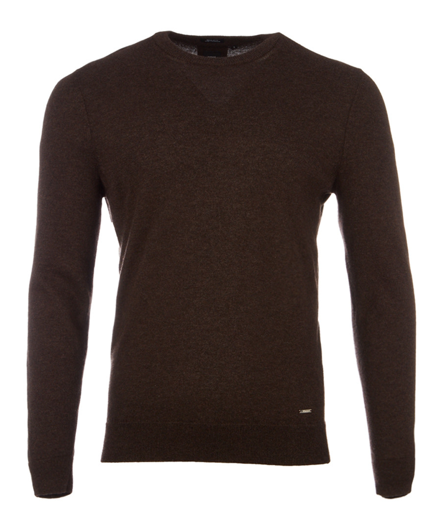 Borello walnut pure cashmere jumper Sale - hugo boss