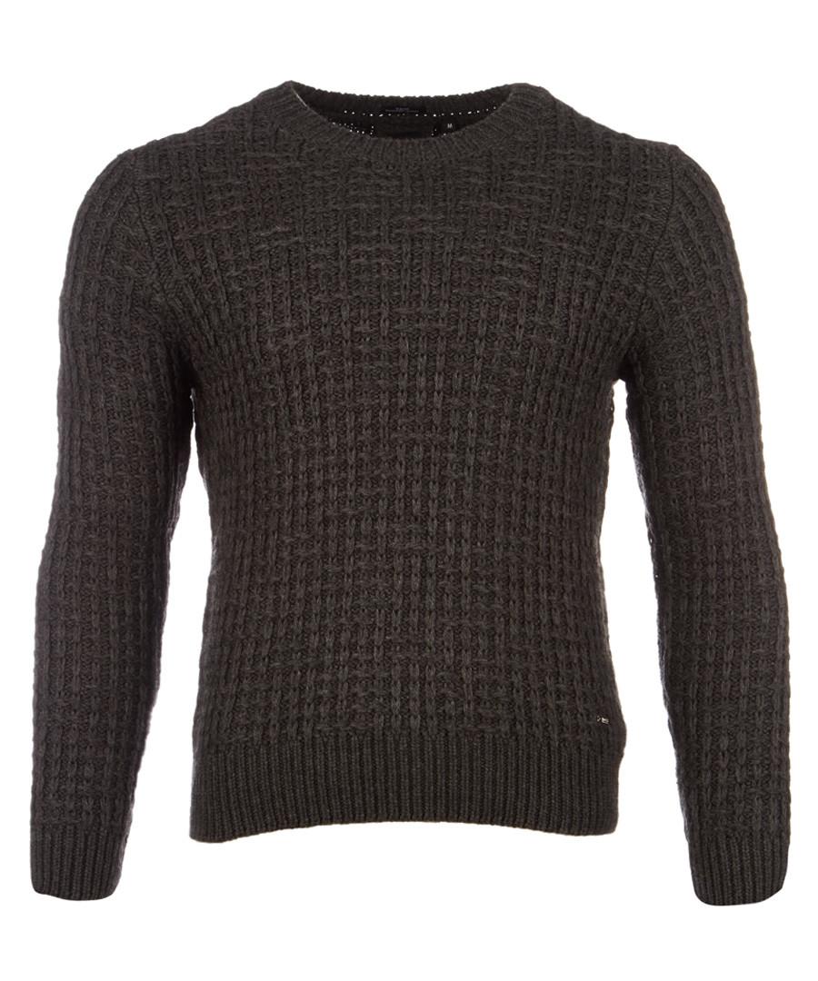 Buccino taupe wool & alpaca jumper Sale - hugo boss
