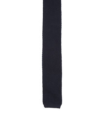 Dark Blue Knitted Tie