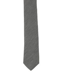 Sage silk & linen tie