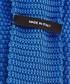 Blue pure silk knitted tie Sale - hugo boss Sale