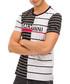Black & white pure cotton logo T-shirt Sale - galvanni Sale