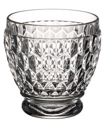 4pc Boston Shot crystal glass tumblers