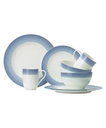 8pc For Me & You porcelain dinner set
