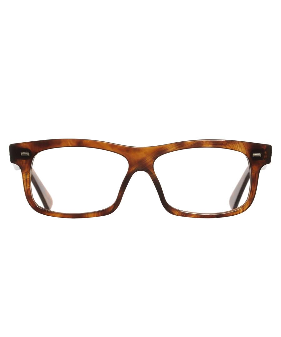 Havana acetate rectangle glasses Sale - cutler and gross