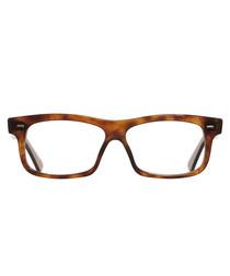 Havana acetate rectangle glasses
