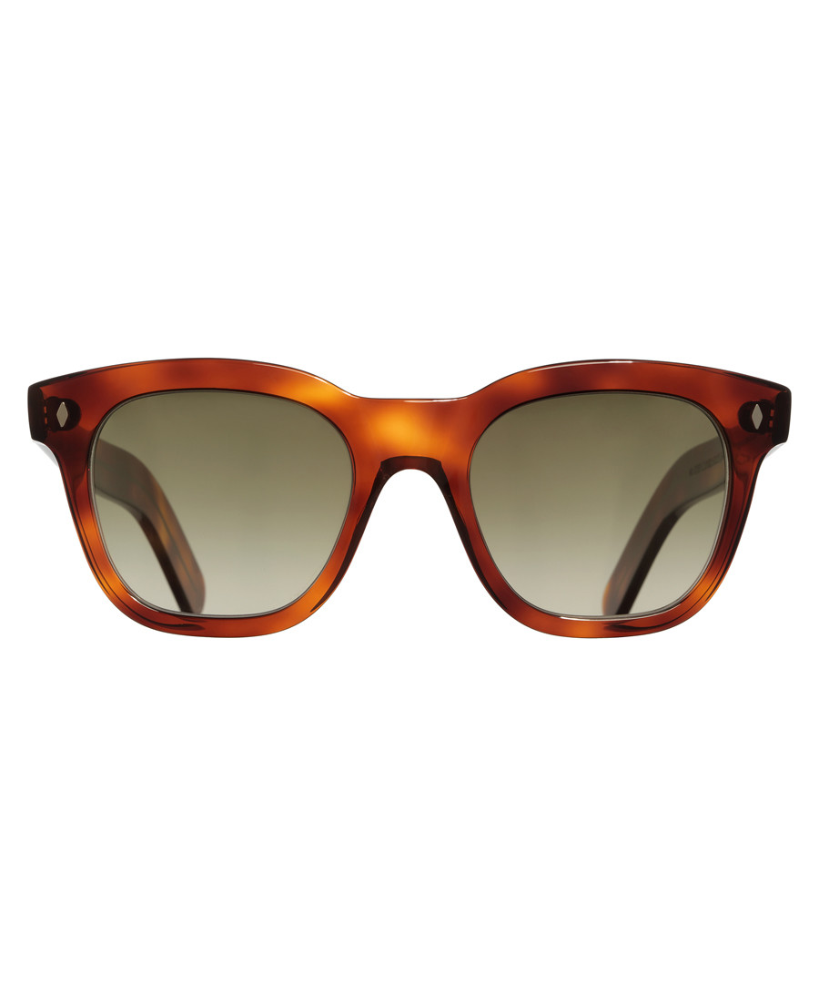 Havana squared D-frame sunglasses Sale - cutler and gross