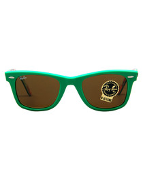 Original Wayfarer green sunglasses