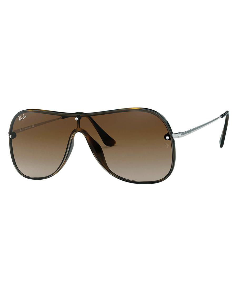 Havana & brown one-lens sunglasses Sale - ray-ban