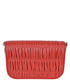 Fuoco red ruched leather crossbody Sale - prada Sale