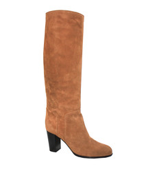 Royal tan suede boots