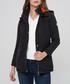 Black lighweight button coat Sale - felix hardy Sale