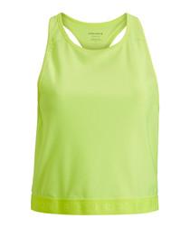 Women's yellow tank top