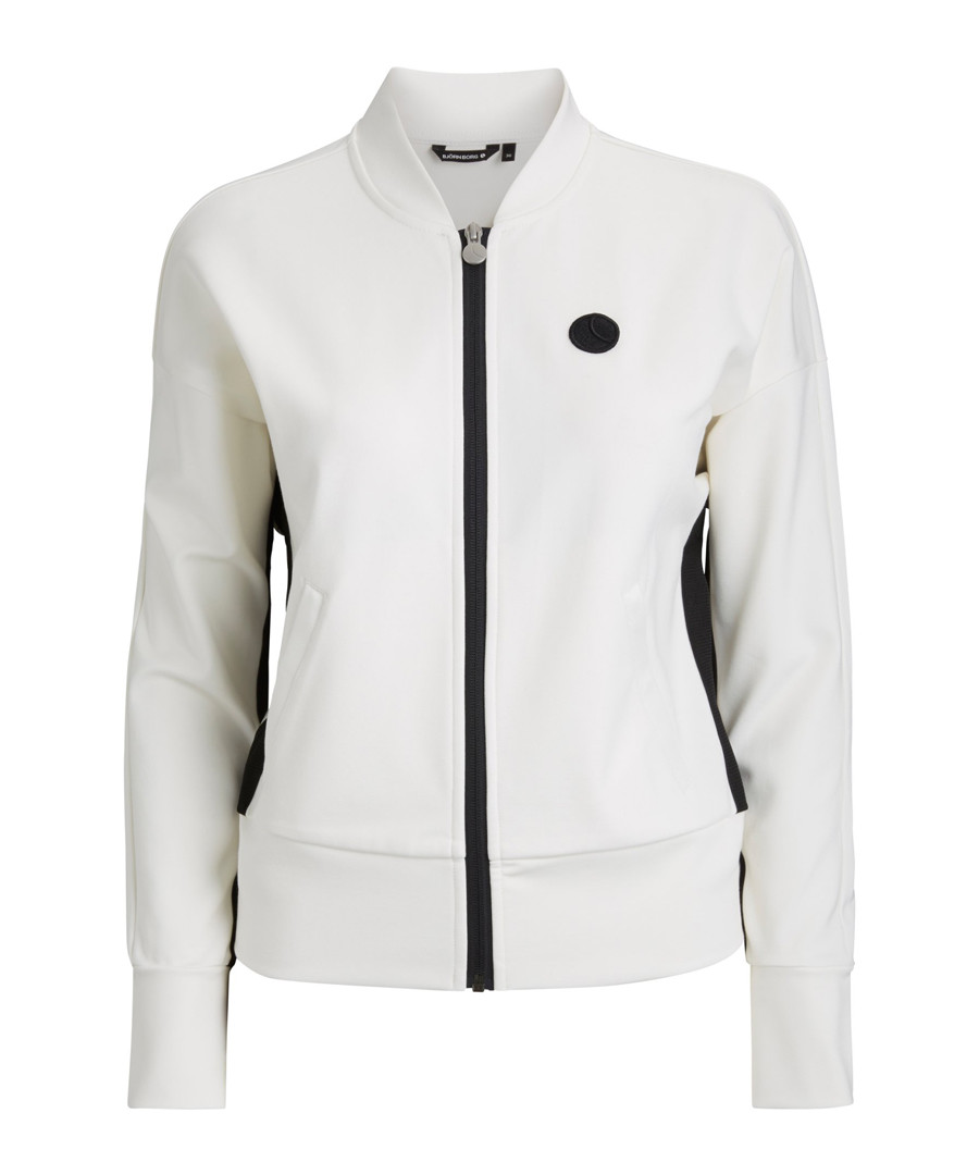 Off-white zip-up jacket Sale - Bjorn Borg