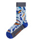 Blue & orange print socks Sale - bjorn borg Sale