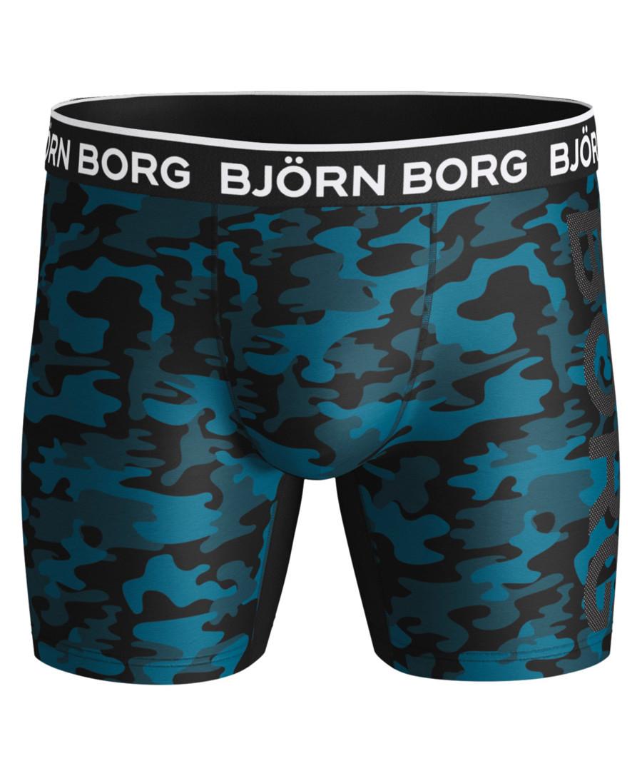 Blue camouflage print boxers Sale - Bjorn Borg