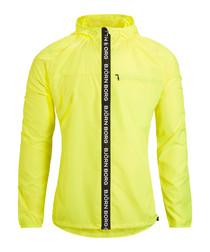 Men's yellow logo jacket