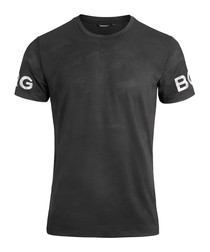 Men's black logo T-shirt