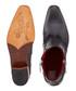 Carlito black leather zip cowboy boots Sale - Jeffery West Sale
