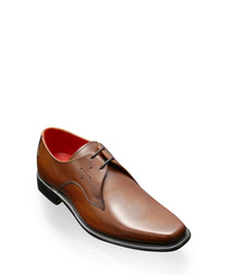 Gibson tan leather Derby shoes