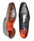 Gibson black leather Derby shoes Sale - Jeffery West Sale