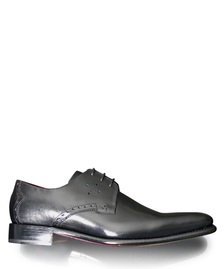 Gibson black leather Derby shoes Sale - Jeffery West