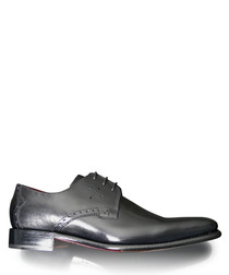 Gibson black leather Derby shoes