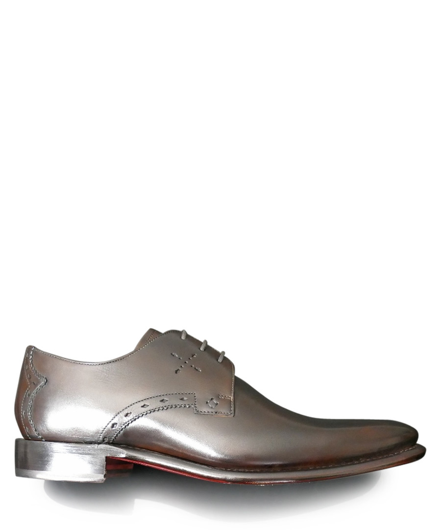 Gibson brown leather Derby shoes Sale - jeffery west