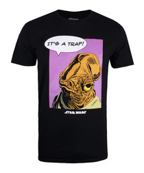 It's A Trap black pure cotton T-shirt