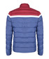 Indigo & red striped quilted coat Sale - felix hardy Sale